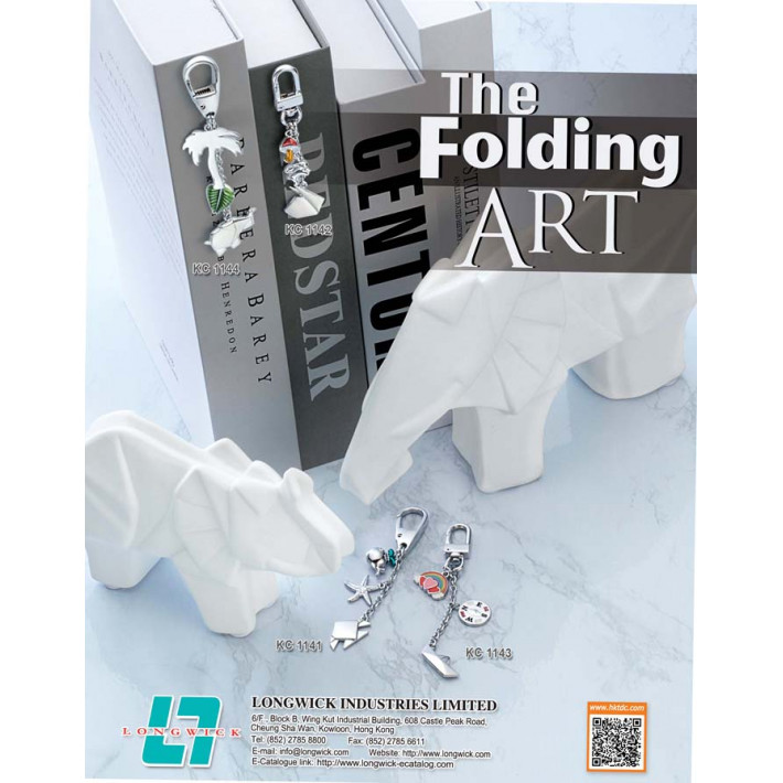 The Folding Art_Keychain