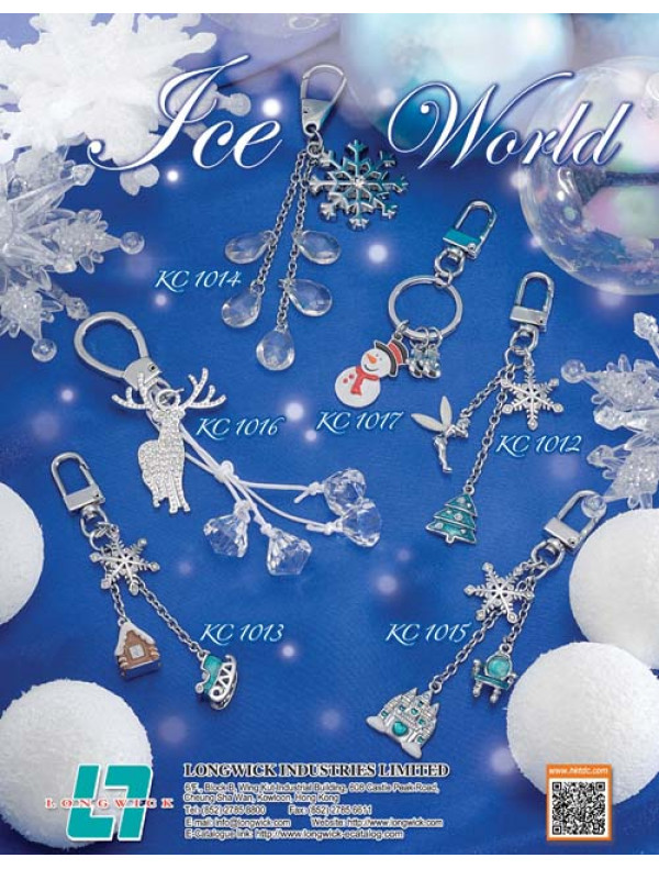 Ice World- Keychain