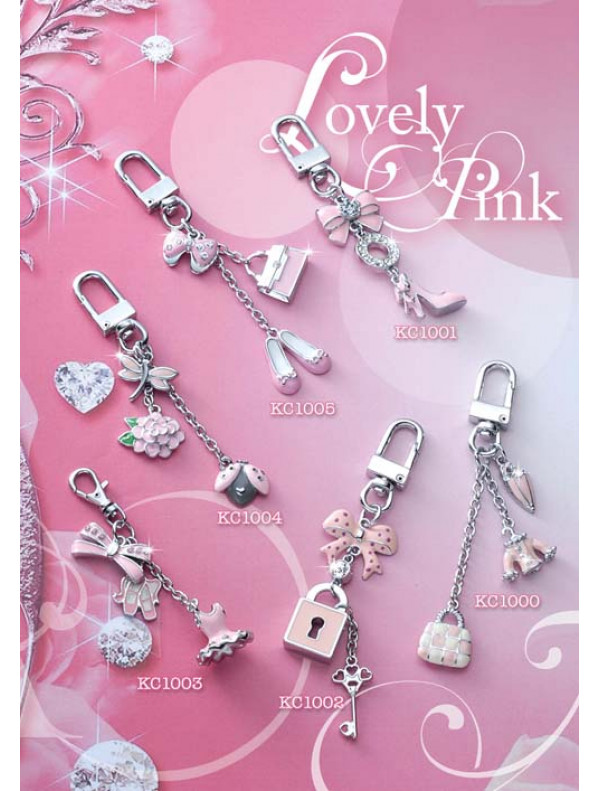 Lovely Pink - Keychain