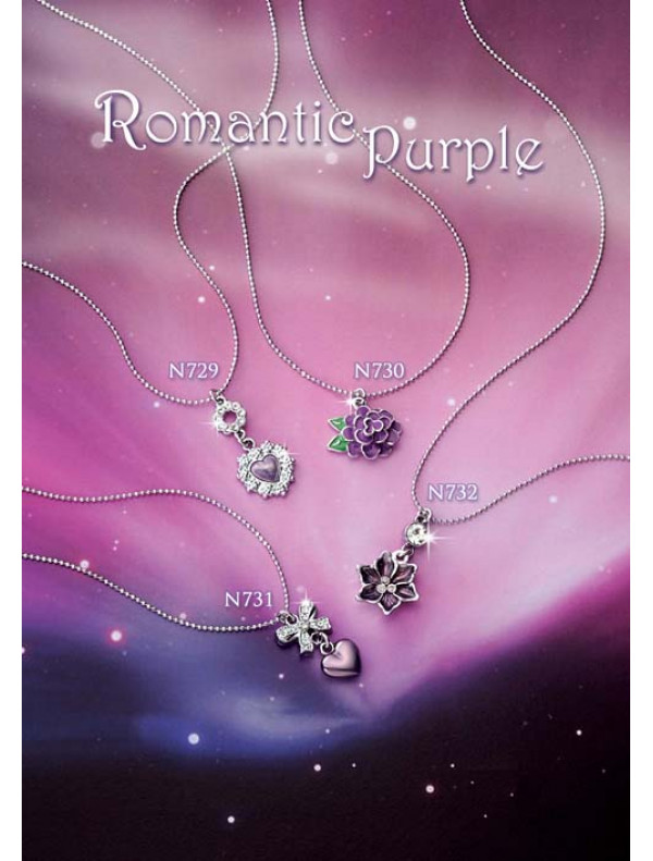 Romantic Purple - Necklace