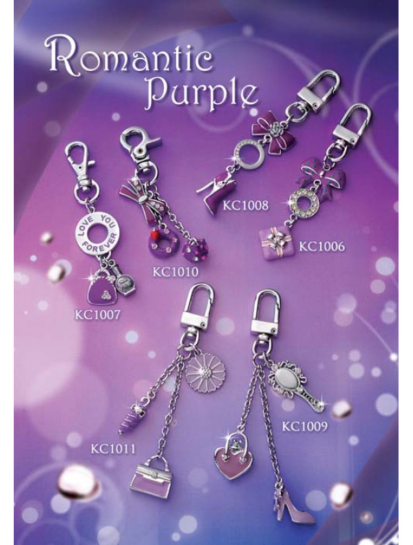 Romantic Purple - Keychain
