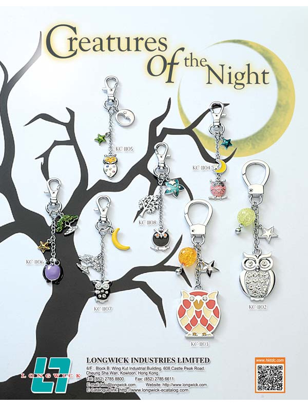 Creatures of the Night- Keychain